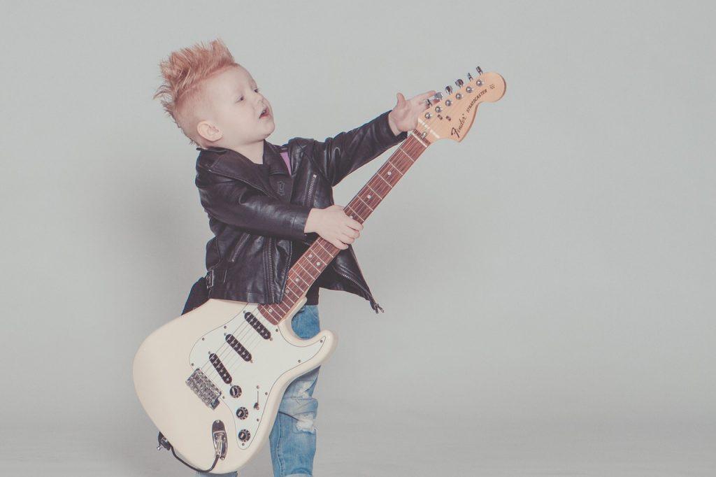 Kinder Gitarre lernen, Gitarre lernen für Kinder