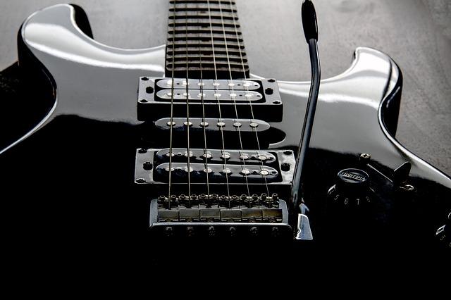 gitarre wie eine saite aufziehen